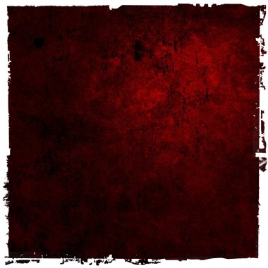Abstract red background or paper with bright center spotlight an