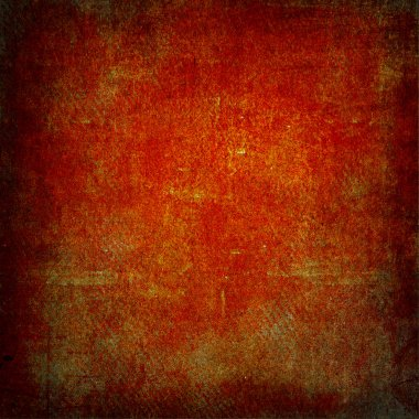 Highly detailed red and brown grunge background or paper with vintage texture