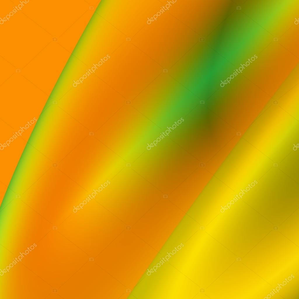 Naranja Y Verde Futurista Fondo Abstracto