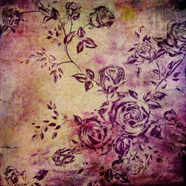 Wall background or vintage texture