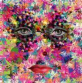 Fotografie krásné ženské oči