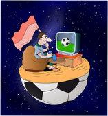 Fényképek foci rajongó