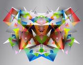 Fényképek geometriai háttér