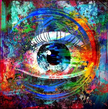 Magic eye background