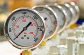 Fotografia misuratore di pressione idraulica