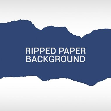 Ripped paper pieces background