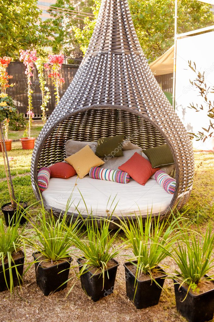 Cool furniture for the garden