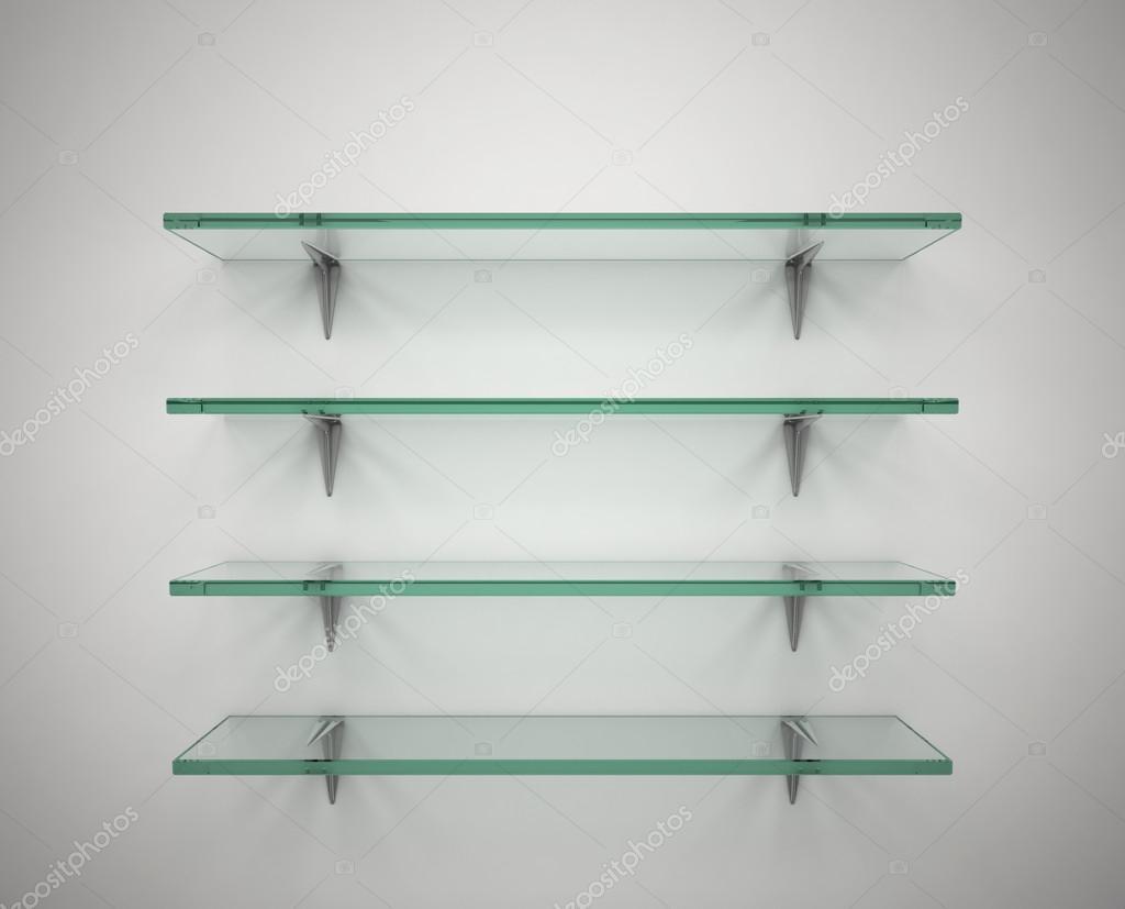 estantes de vidrio vaca Foto de stock koya979 15879111