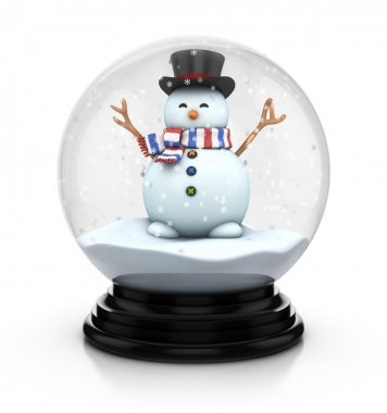 Snowdome snowman
