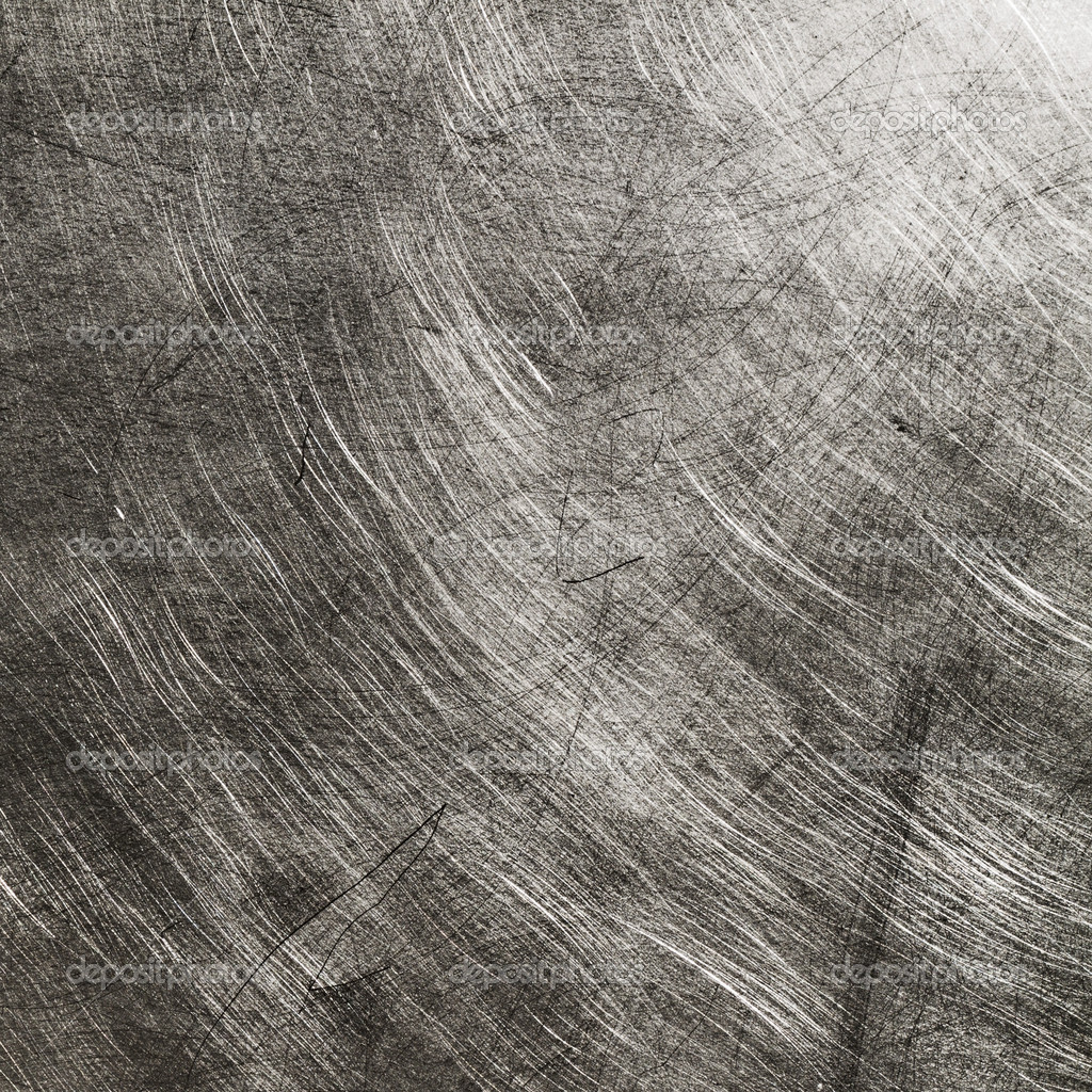 Metal Plate Scratched Texture Background Stock Photo