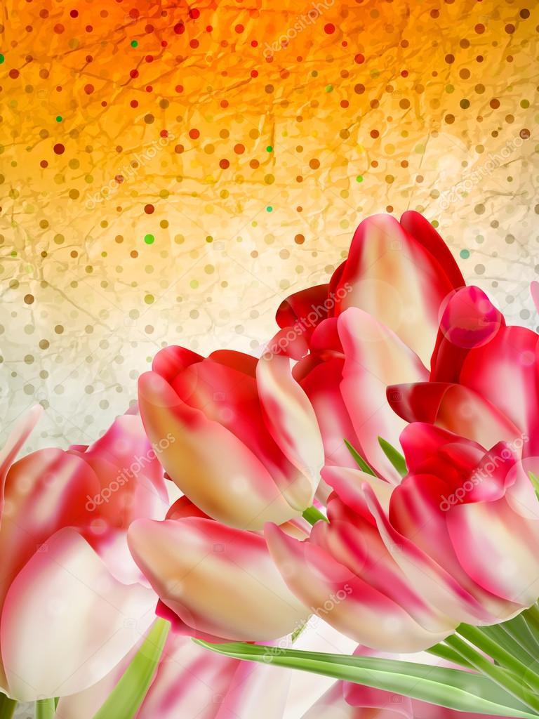 Vintage floral frame background. EPS 10