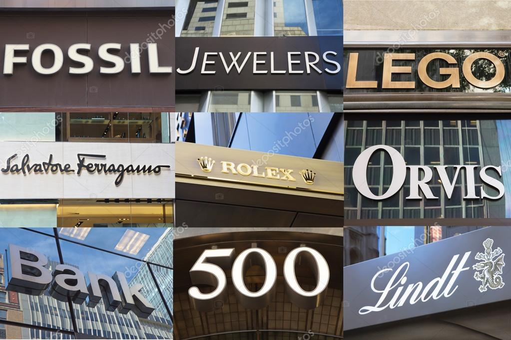 5e0a494b452 Nova Iorque - 22 de setembro  Marco grandes lojas de departamento e  boutiques pequenas high-end designer nome fazem quinta Avenida de Nova york