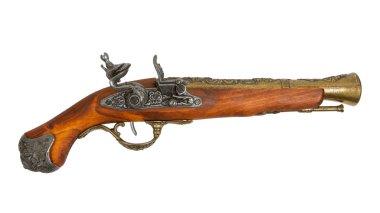 Old wooden gun