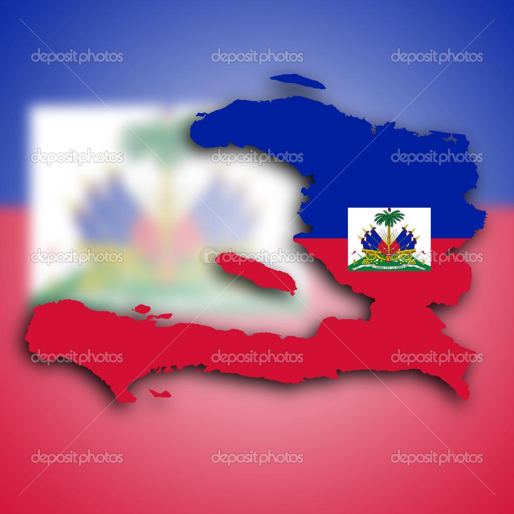 karta över haiti karta över haiti — Stockfotografi © michaklootwijk #21939471 karta över haiti