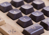 Stará kalkulačka pro to úřad související práce