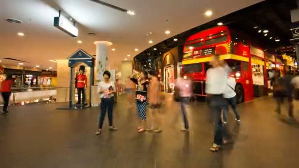 Bangkok Shopping mall Timelapse