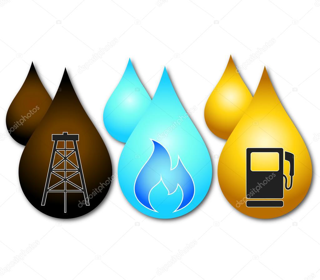 Design business oil, gas, petrol