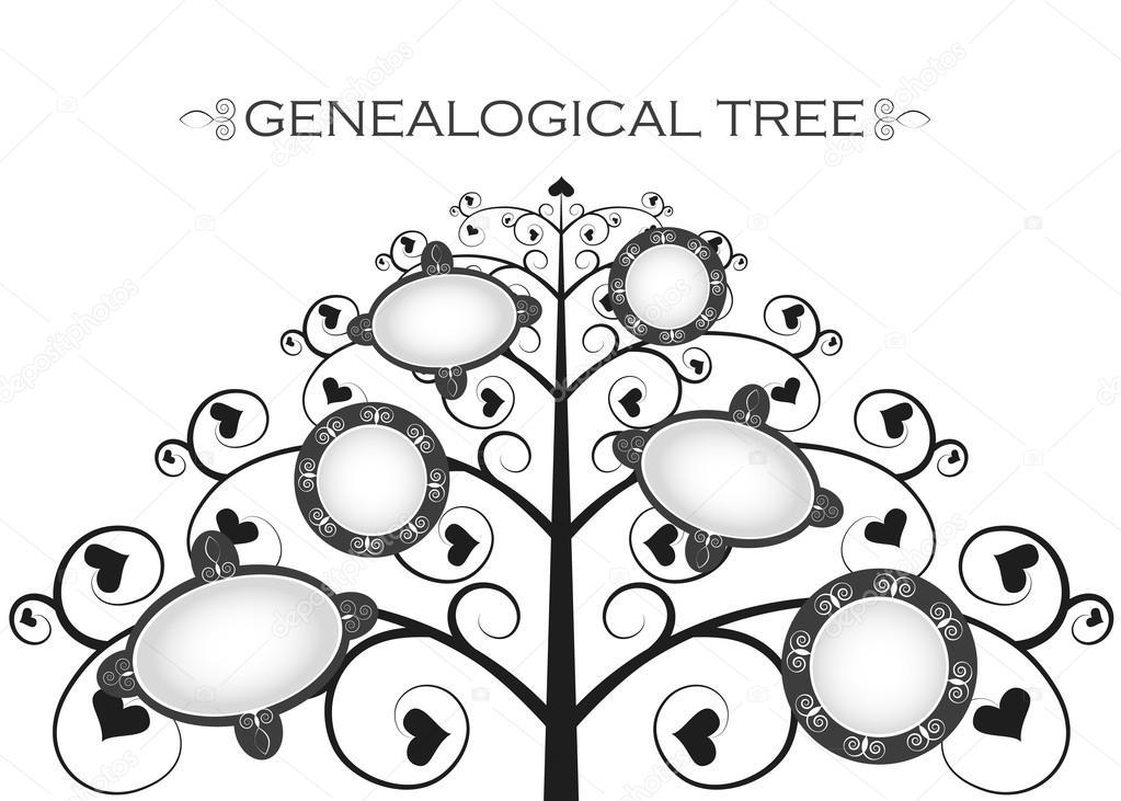 Imágenes Arbol Genealogico Blanco Y Negro árbol Genealógico