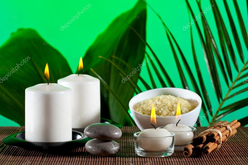 Aromatherapy and spa composition