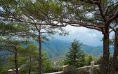 vista dal monastero di kykkos