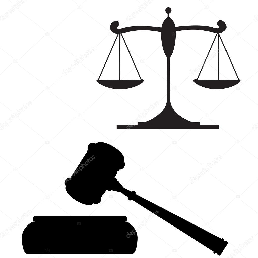 balan u00e7a da justi u00e7a e martelo vetor de stock  u00a9 gabylya89 14095759 clipart judge samuel clipart judge with wording judge