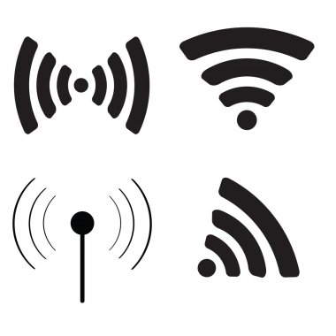 Wifi icon set.