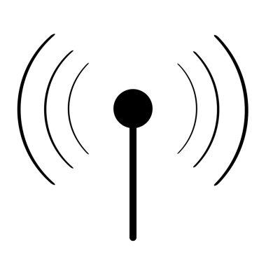 Black sign wi-fi