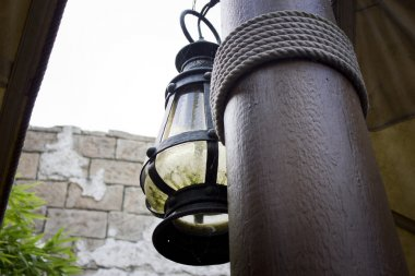 Old lamp post