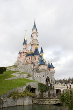View of the Sleeping beauty palace