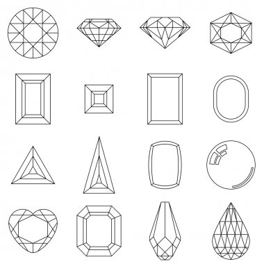 Jewelry shapes