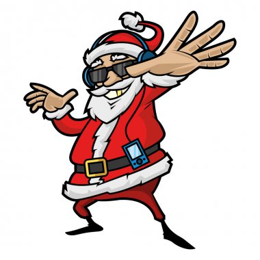 Santa Claus is listening to player