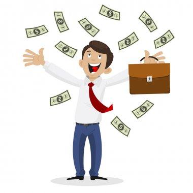 Businessman got huge amount of money