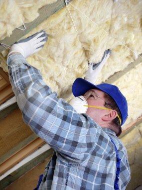 Attic thermal insulation