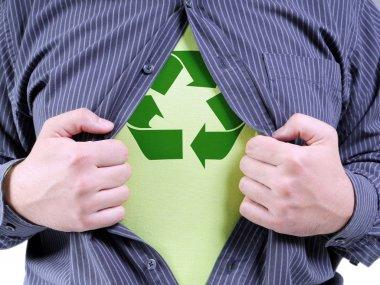 Eco superhero transformation