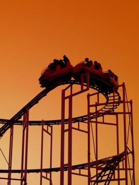 Roller coaster ride
