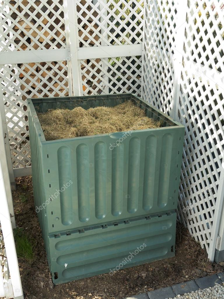 Bidone Del Compost U2014 Foto Stock