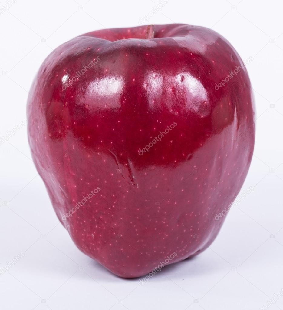 cerrar color rojo manzana — Fotos de Stock © hin255 #46980091