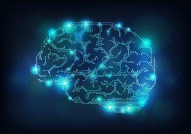 Computer brain.
