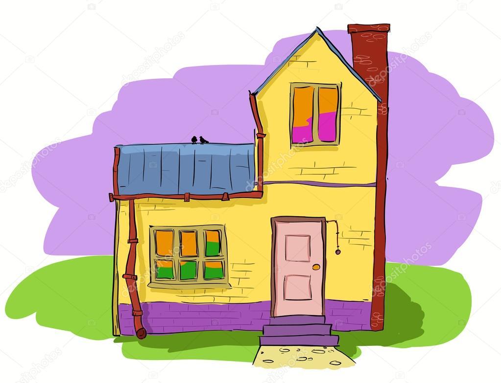 Милый дом - векторное изображение zayatsandzayats #12882779.