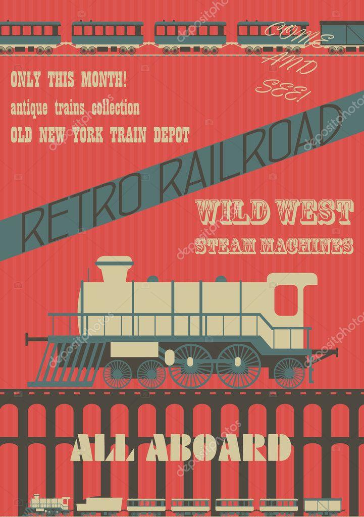 Retro railroad