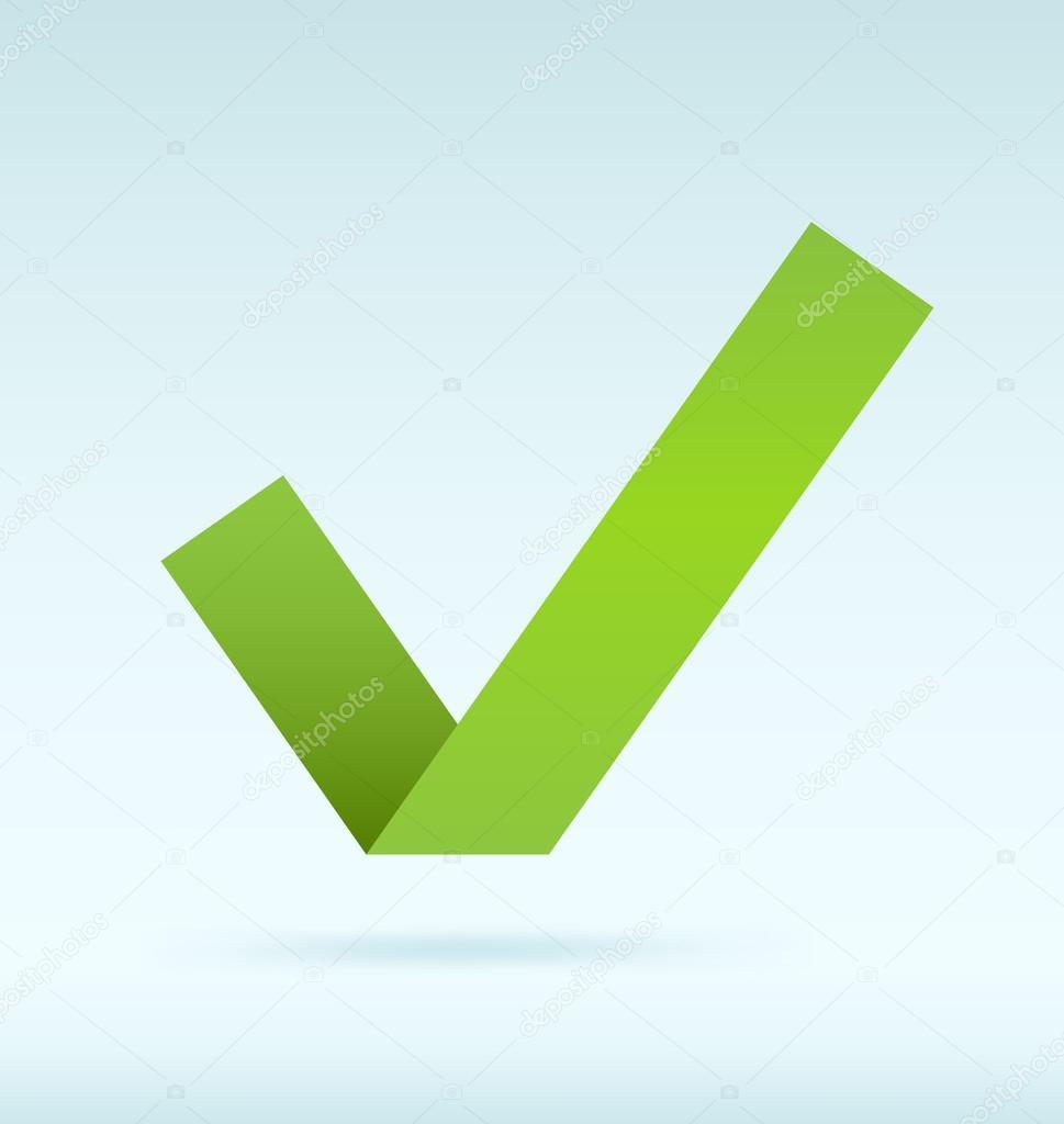 Tick Verde Vector De Stock Zayatsandzayats 13758422