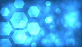 Fotografie abstrakte blauen Hintergrund