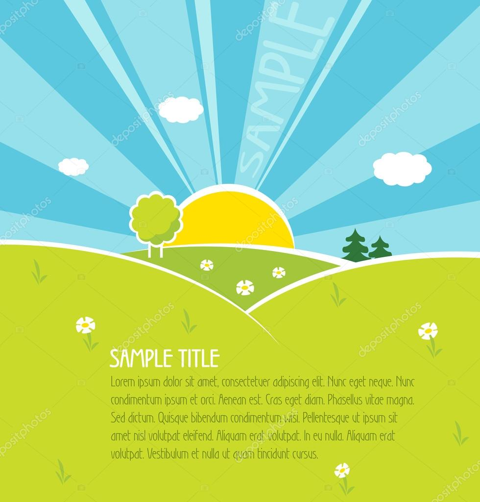 Happiness vector background