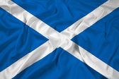 vlající vlajka scotland