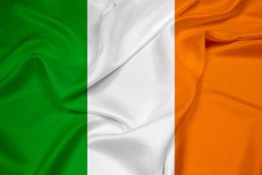 Waving Ireland Flag