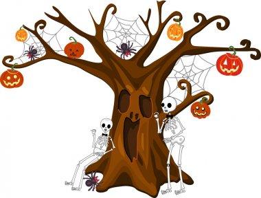 Scared Stiff Halloween Tree