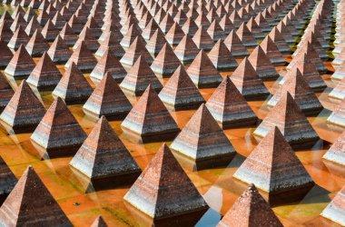 Pyramids of Plaza Juarez