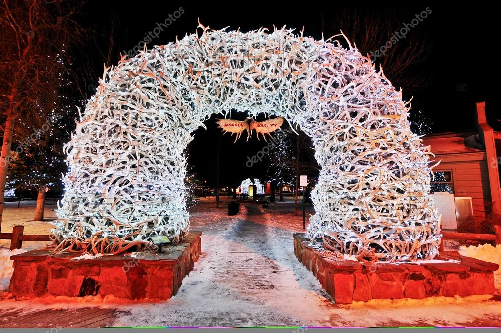 Antler Arches in Jackson Hole