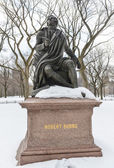 Photo Robert Burns, Central Park, NYC