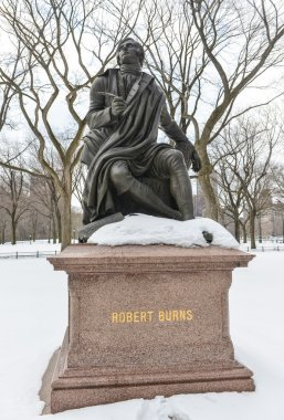 Robert Burns, Central Park, NYC